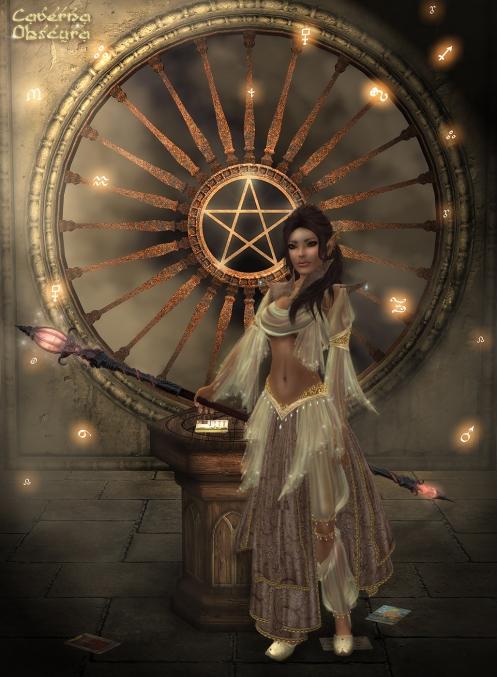 Shahrazad Promo - Elven Sorceress