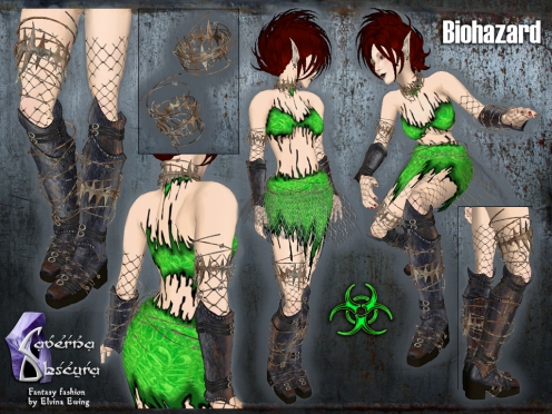 Biohazard Outfit by Caverna Obscura
