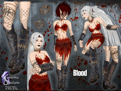 Blood Outfit by Caverna Obscura