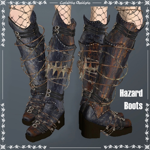 Hazard Boots by Caverna Obscura