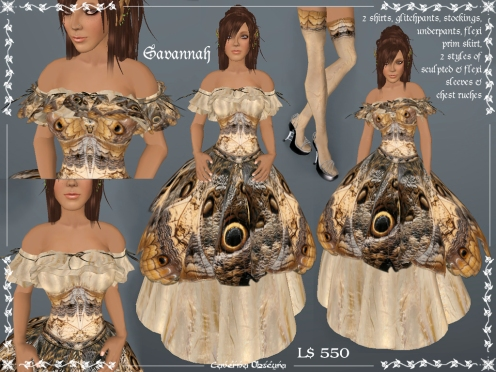 Savannah Gown by Caverna Obscura
