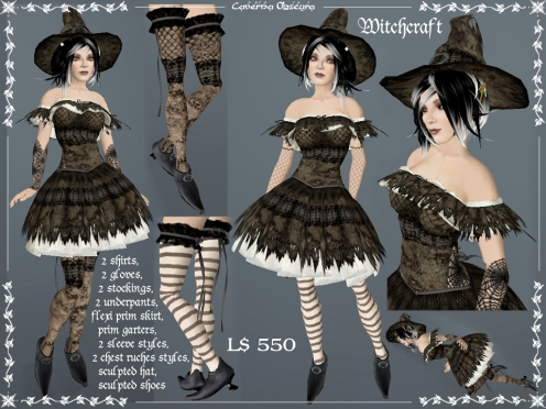 Witchcraft Outfit by Caverna Obscura