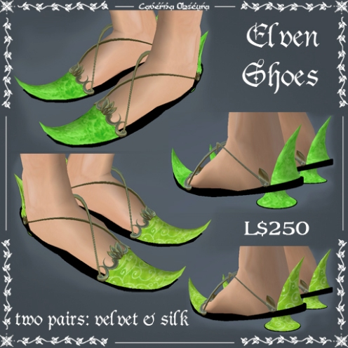 Elven Shoes by Caverna Obscura