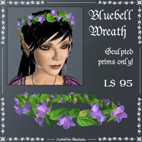 Bluebell Wreath by Caverna Obscura