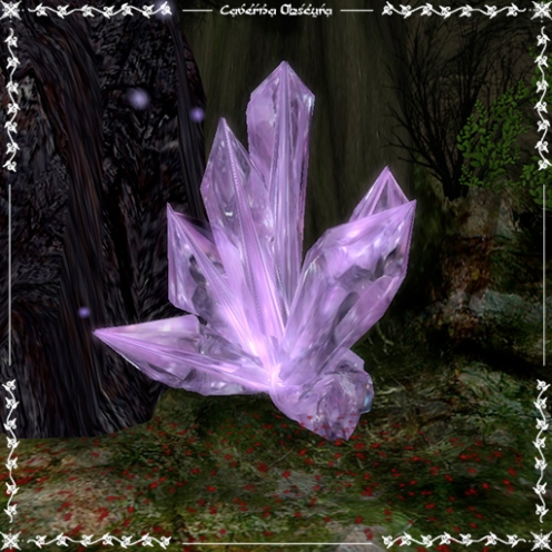 Amethyst Crystal by Caverna Obscura