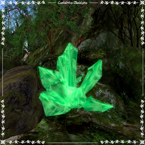 Jade Crystal by Caverna Obscura