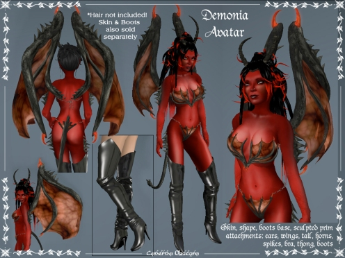 Demonia Avatar by Caverna Obscura