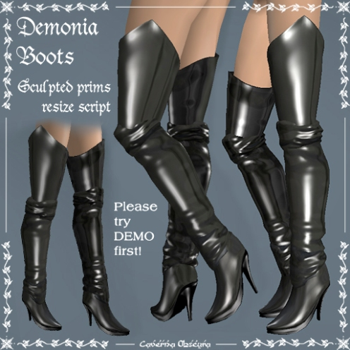 Demonia Boots by Caverna Obscura