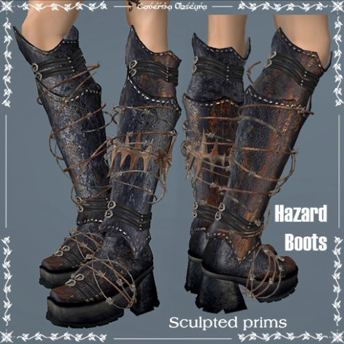 Updated Hazard Boots by caverna Obscura