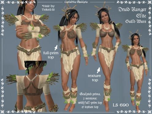 Druid Ranger Elite Armor by Caverna Obscura