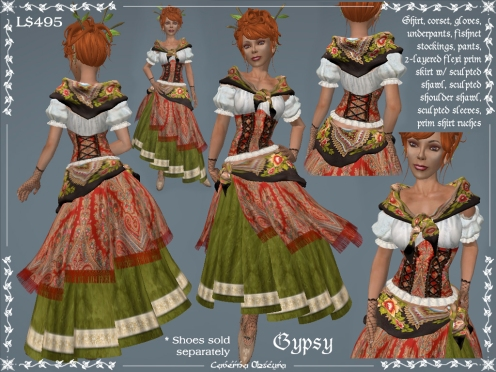 Gypsy Outfit by Caverna Obscura