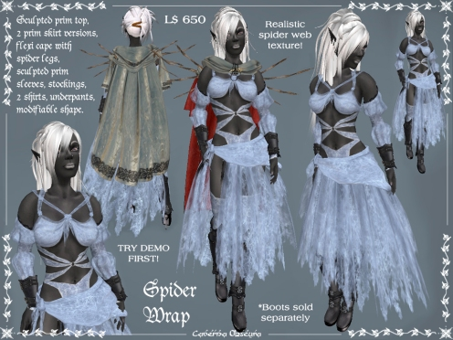 Spider Wrap Outfit by Caverna Obscura