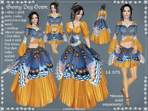 Sunny Day Gown by Caverna Obscura