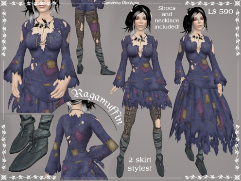 Ragamuffin Outfit by Caverna Obscura