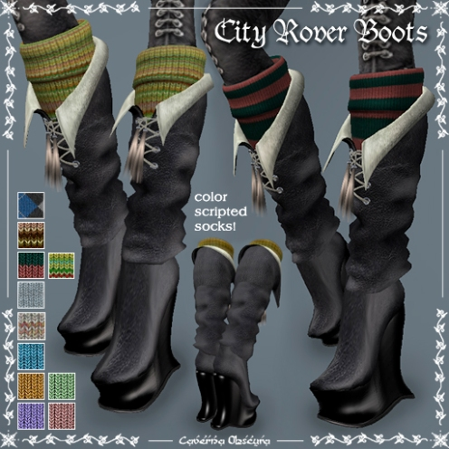 City Rover Boots by Caverna Obscura
