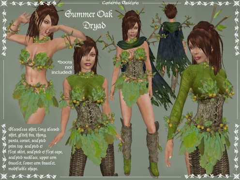Oak Dryad Outfit by Caverna Obscura