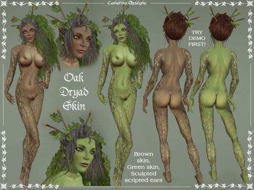 Oak Dryad Skin by Caverna Obscura