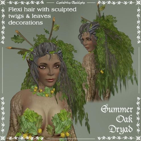 Summer Oak Dryad Hair by Caverna Obscura