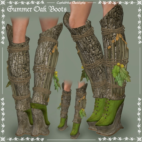 Summer Oak Boots by Caverna Obscura