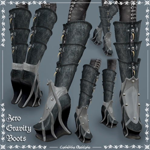 Zero Gravity Boots by Caverna Obscura