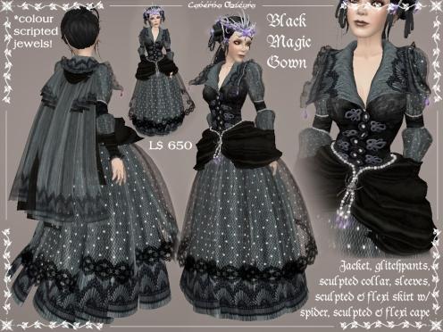 Black Magic Gown