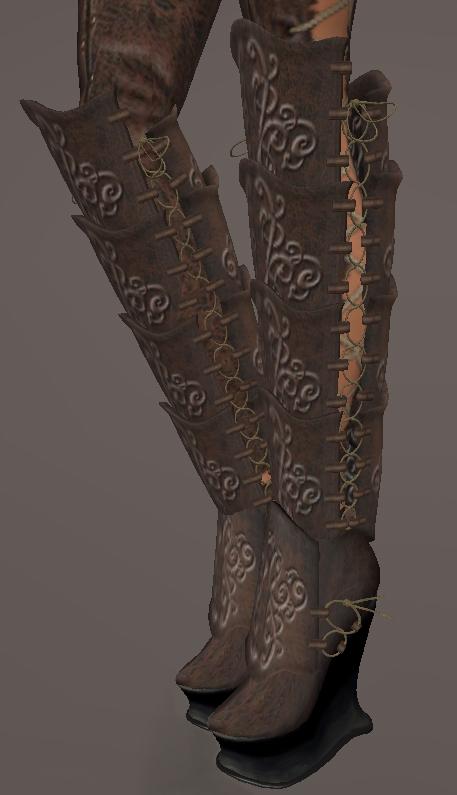 Fantasy Warrior Boots