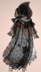 Cobweb Lace Cloak BLACK04