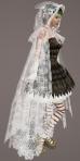 Floral Lace Cloak WHITE02