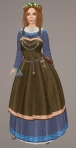 Viking Apron Gown BLUE01