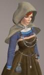 Viking Apron Gown BLUE04