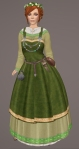 Viking Apron Gown GREEN01