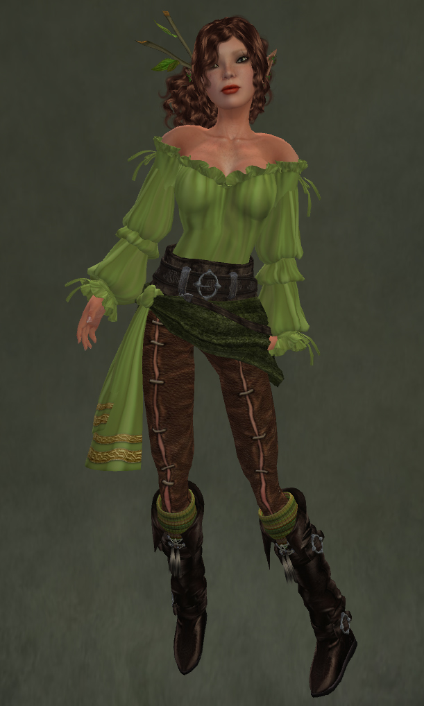 elven huntress outfit by caverna obscura caverna obscura