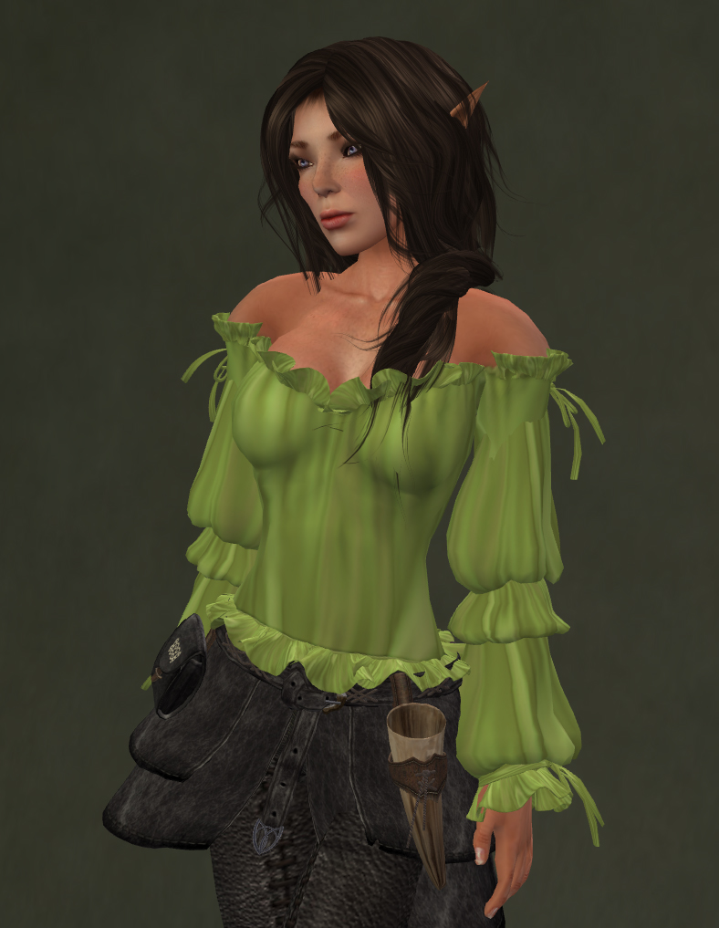 Gypsy Wench Peasant Blouse