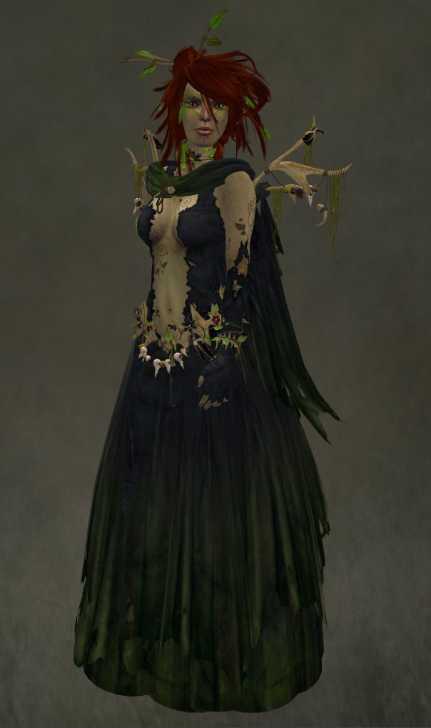 Wood Witch Outfit Update Caverna Obscura Fantasy