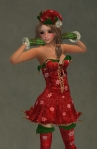PETITE Christmas Elf RED3