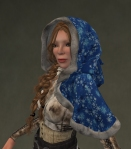 Winter Cape Mesh BLUE2