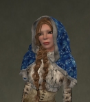 Winter Cape Mesh BLUE3