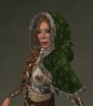 Winter Cape Mesh GREEN2