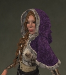 Winter Cape Mesh PURPLE