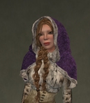 Winter Cape Mesh PURPLE3