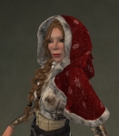 Winter Cape Mesh RED2