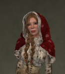 Winter Cape Mesh RED3