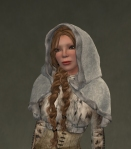 Winter Cape Mesh WHITE3