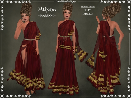Athena Toga ~PASSION~ by Caverna Obscura