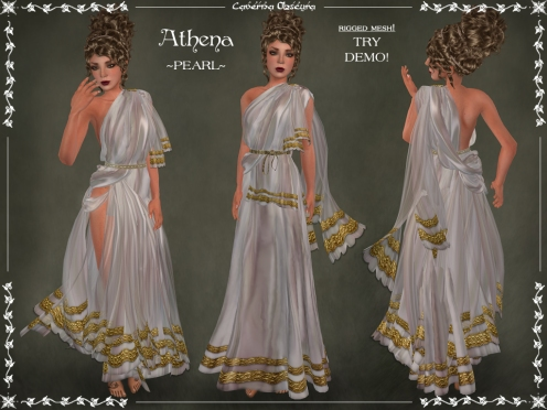Athena Toga ~PEARL~ by Caverna Obscura