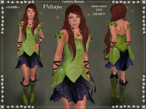 Petunia Outfit ~DARK~ by Caverna Obscura