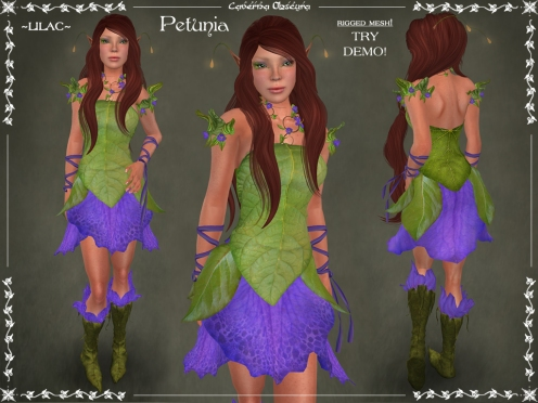 Petunia Outfit ~LILAC~ by Caverna Obscura