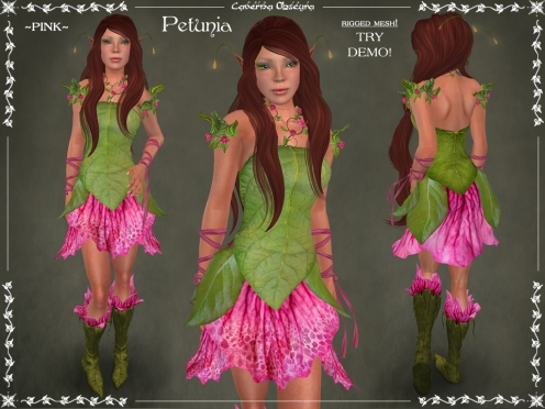 Petunia Outfit ~PINK~ by Caverna Obscura