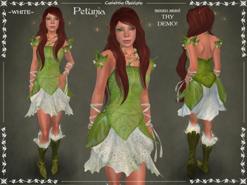 Petunia Outfit ~WHITE~ by Caverna Obscura