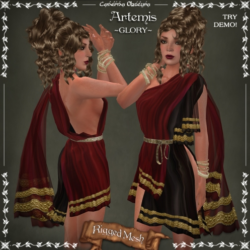 Artemis Tunic ~GLORY~by Caverna Obscura